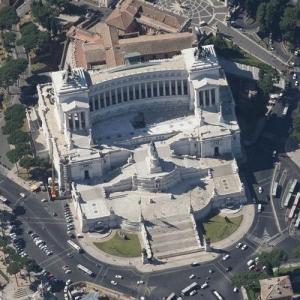 Vittorio Emanuele Monument (Bing Maps)
