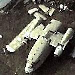 C-119 Flying Boxcar in pieces (Birds Eye)