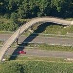 Delftlanden pedestrian bridge