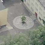 Montessori-Schule maze (Birds Eye)