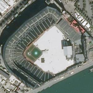 Oracle Park (Bing Maps)