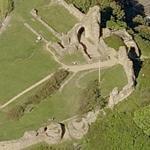 Hastings castle (Bing Maps)
