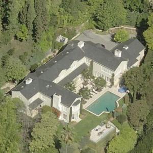 Salma Hayek's House (Bing Maps)