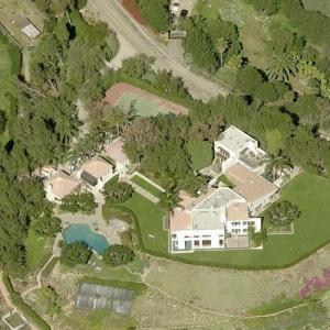 Axl Rose's House (Bing Maps)