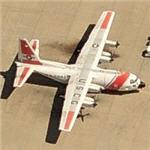 HC-130 at Coast Guard Air Station Sacramento (Birds Eye)