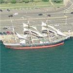 'Star of India' - the world's oldest active ship (Birds Eye)