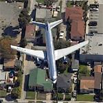 On approach to LAX (Birds Eye)