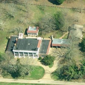 Billy Ray & Miley Cyrus' House (Birds Eye)
