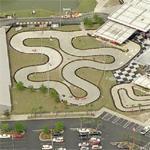Go-Cart Race at NASCAR Speed Park (Birds Eye)