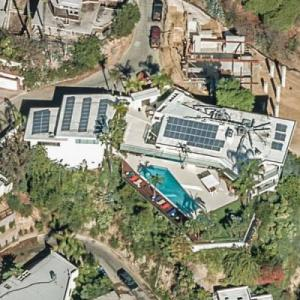 Leslie Benzies' house (formerly Jerry Seinfeld's) (Birds Eye)