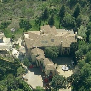 Sylvester Stallone's House (Birds Eye)