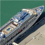 """Oceania Cruise Lines ship """"Regatta"""" (Birds Eye)"""