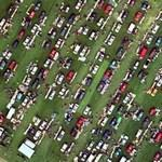 Flea market in Portsmouth (Bing Maps)