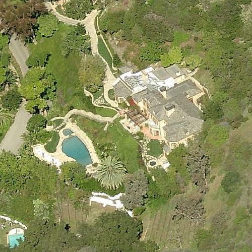 Kelsey & Camille Grammer's House (former) (Birds Eye)