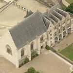 Angers castle (Bing Maps)