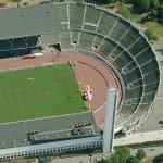 Helsinki Olympic Stadium (Birds Eye)