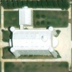 FLDS Temple and compound (Bing Maps)
