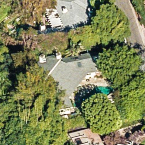 Sandra Bullock's House (Former) in West Hollywood, CA (Google Maps) (#2)