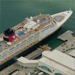 Disney Cruise Ship (Birds Eye)