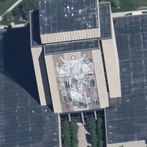 Touchdown Jesus (Birds Eye)