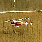 Bell 206 JetRanger practicing landings at OLF Spencer