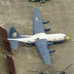 Blue Angels - Fat Albert C-130 (Birds Eye)