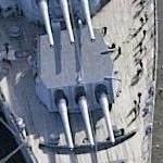 USS New Jersey (BB-62) (Birds Eye)