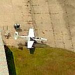 PZL-Mielec TS-11 Iskra (Spark) at Willow Run Airport (Birds Eye)
