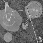 Large antenna farm near Atlantic City Airport