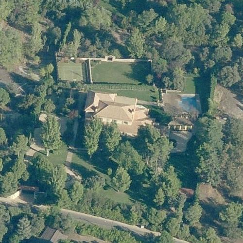 David Beckham's House (Former) (Birds Eye)