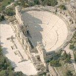 Odeon of Herodes Atticus (Birds Eye)