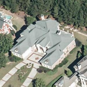 Allen Iverson's House (Bing Maps)