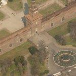Castello Sforzesco (Bing Maps)