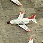 US Navy North American T-39 Sabreliner (Birds Eye)