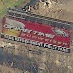 Game Time Budweiser billboard (Birds Eye)
