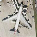 Air India Boeing 747-4B5 (VT-AIC) (Bing Maps)