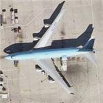 Korean Air Cargo Boeing 747-4B5F (HL7499) (Bing Maps)