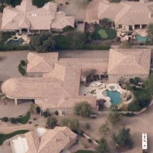 Mike Bibby's House (Former) (Birds Eye)