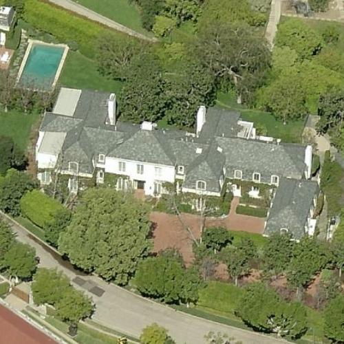 Peter Morton's House In Los Angeles, CA (Bing Maps