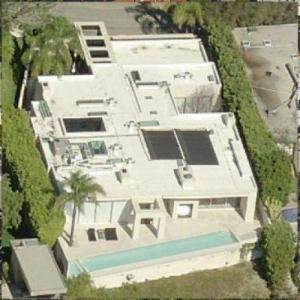 Keanu Reeves' House (Birds Eye)