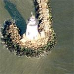 Saybrook Breakwater Lighthouse (Birds Eye)