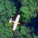 Small Plane in flight (Bing Maps)