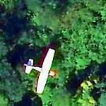 Small Plane in flight x2 (Bing Maps)