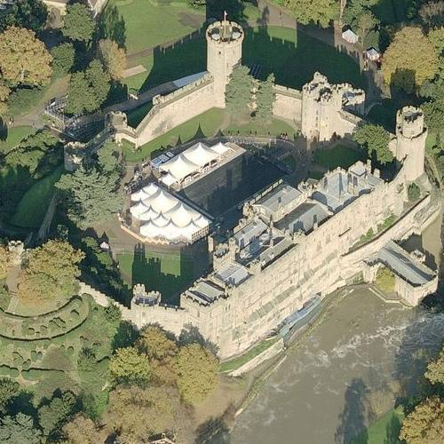 Warwick Castle (Birds Eye)