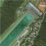 Oberschleissheim rowing venue (Bing Maps)