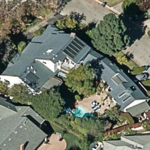 Dom DeLuise's House (former) (Birds Eye)