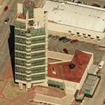 'Price Tower' by Frank Lloyd Wright (Bing Maps)