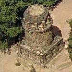 Bismarck Tower Radebeul (Birds Eye)