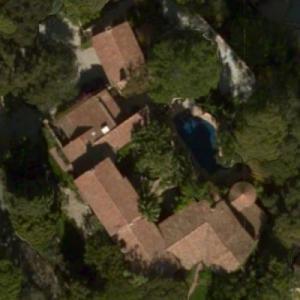 Joni Mitchell's House (Bing Maps)