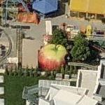 Giant Apple (Birds Eye)